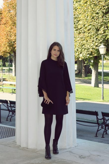 black dress from Zara – Look Style Award